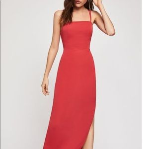 ⚡️HP⚡️ Red BCBG gown, NEVER WORN